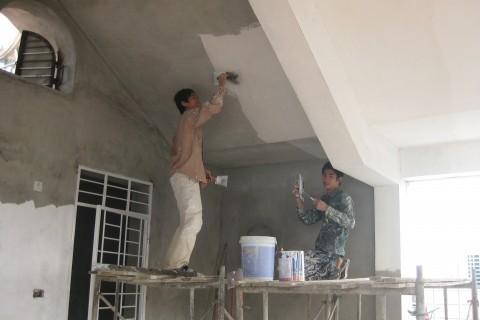 Dịch vụ sơn nhà trọn gói giá rẻ tại tphcm