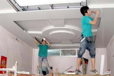 Thi công làm trần thạch cao giá rẻ uy tín tại TP HCM